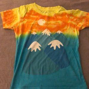 Mountains Mokuyobi shirt, Never worn